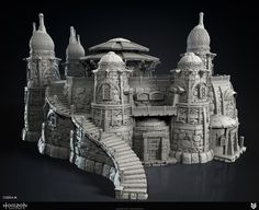 ArtStation - Oseram Theme Settlement Sculpts, Alex Zapata