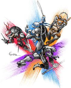 TMNT • Teenage Mutant Ninja Turtles