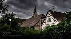 "Alsace & architecture ""Bergheim im Elsass"" by olivier-rouet"