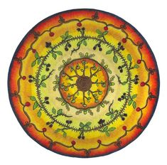 A lovely #mandala created for #Mabon