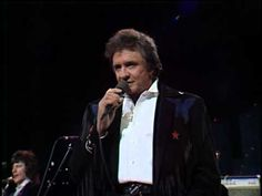 ▶ JOHNNY CASH Ring Of Fire live from AUSTIN TX 1987 - YouTube