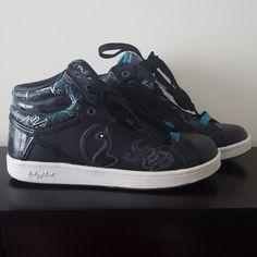 871e88da597 Baby Phat Shoes | Graffiti Design Baby Phat Sneakers | Color: Black/Purple  | Size: 7.5