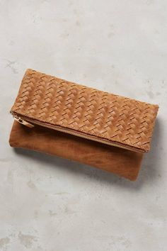 Discover unique bags, clutches & travel accessories at Anthropologie, including the season's newest arrivals. Leather Clutch, Clutch Bag, Leather Handbags, Leather Bags, My Style Bags, Business Casual Outfits For Women, Fab Bag, Anthropologie, Leather Weaving