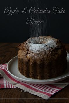 Hot & Chilli | food and travel blog: Recipe: Apple and Calvados Cake