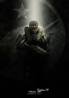 Halo - Spartan detailed, premium quality, magnet mounted prints on metal designed by talented artists. Master Chief Cosplay, Halo Master Chief Helmet, Master Chief Costume, Master Chief And Cortana, Halo Game, Halo 5, The Legend Of Zelda, Star Lord, Thor