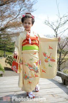 七五三 Japanese Costume, Japanese Kimono, Japanese Outfits, Japanese Fashion, Geisha, Rite Of Passage, Kimono Fabric, Yukata, Infants