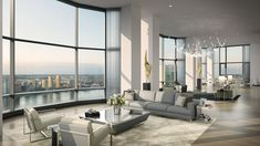 This $70 Million NYC Penthouse Has Its Own Infinity Pool - The duplex apartment spans nearly 10,000 square feet.