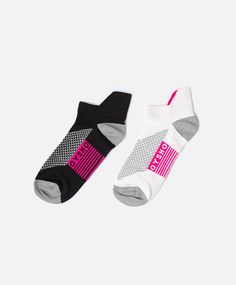Pack of 2 pairs of technical socks - OYSHO Mens Sports Socks, Sport Socks, Socks World, Patterned Socks, Gucci, Cool Socks, Ankle Socks, Gym Wear, Boxers