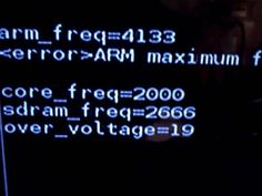 Overclocking a la Raspberry Pi a 4Ghz!!! Alguien da más? - Raspberry Pi