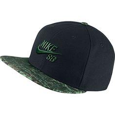 528b4d43f77 Amazon.com  Nike Mens SB Seasonal Snapback Hat Black Camo Green  Sports    Outdoors