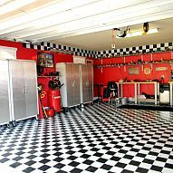 Need some space to let your imagination run wild?  Why not take over the garage with those crazy style ideas!