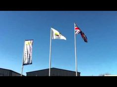Flags outside House of Flags HQ!