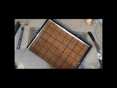 DIY Stamping tool using a Picture frame ( Corky my Faux Misti) - YouTube. YAY! Gonna have to try this!!
