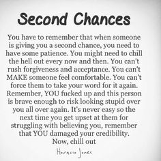 8 Best Second chance quotes images in 2017 | Chance quotes