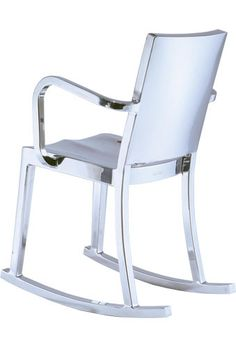 #rocker, #projectdecor. The Hudson chair, #Philippe Starck created & named it for Ian Schrager's Hudson Hotel in New York. TheHudson is included in the design collection of the Museam of Modern Art.