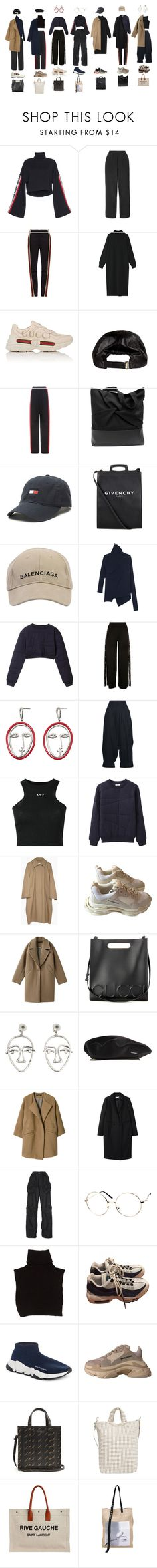 """Untitled #1440"" by jayda-xx ❤ liked on Polyvore featuring Boutique, Balenciaga, Wales Bonner, Gucci, Vetements, Givenchy, Marques'Almeida, Acne Studios, MANGO and Yohji Yamamoto"