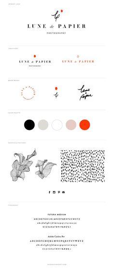 Lune de Papier Photography Branding