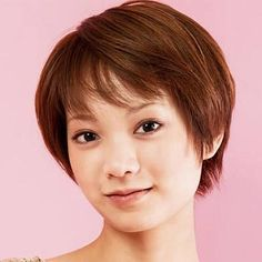 Cute Short Hairstyles for Thin Hair and Round Face: Short Asian ...