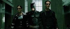 The Matrix is definitely better with Batman. | 21 Photos That Prove Everything Is Better With Batman