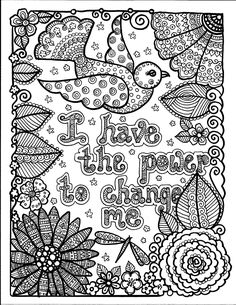 Instant Download Be Brave Coloring Book By ChubbyMermaid On Etsy Colouring For AdultsAdult