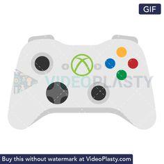 GIF icon animation of an Xbox controller Loop Gif, Game Tag, Xbox Controller, Video Games Xbox, Gifs, Animation, Xbox One Controller, Animation Movies, Anime