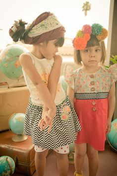 These little girls are the most adorable little ones ever.