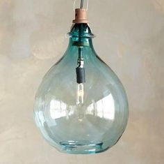 Pendant light aqua lightinglove for the beach houserfect sea pendant light aqua lightinglove for the beach houserfect sea glass color coastal shabby cottage decor lighting pinterest shabby cottage aloadofball Images