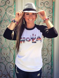 Hola Serape Tee - Ali Dee Collection