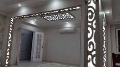 faux plafond salon moderne ADM plus Interior Ceiling Design, Bedroom False Ceiling Design, Ceiling Decor, Plafond Design, Wood Carving Designs, Muted Colors, Home Projects, Salons, New Homes