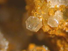 Wales Uk, Mineralogy, Orange, Yellow, Rust, Crystals, Crystal, Crystals Minerals