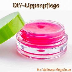 Lippenpflege selber machen - Lippenpflege Rezept für farbigen Lippenbalsam - ein farbiger Lippenbalsam ganz einfach selber hergestellt werden. Dabei soll natürlich auch ...