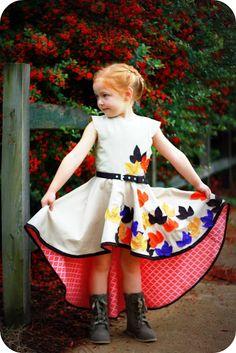 PR Tutorials, Week 5 - Fishtail Circle Skirt - The Sewing Rabbit