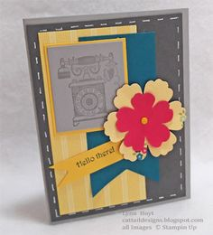Cattail Designs: Mojo Monday 300, Stampin Up card