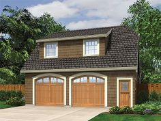 99% perfect. Plan 034G-0021 - Garage Plans and Garage Blue Prints from The Garage Plan Shop Yep. This could work