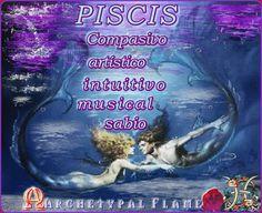 Por la astrología estamos pasando el mes de PISCIS . Como leemos PISCIS son : Compasivo, artístico, intuitivo, sabio, musical   As we read from astrology, PISCES Strength are: Compassionate, artistic, intuitive, gentle, wise, musical.    PEIXES Pontos Fortes: Compassivo, artístico, intuitivo, gentil, sábio, musical    #Archetypal #Flame #quotes #zondiac #astrology #love #light #agape #fos #gif #GIFS #PISCES #PISCIS #ΙΧΘΥΣ #PEIXES #health #beauty #inspiration #like #comment #share #tag
