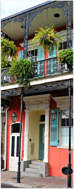French Quarter New Orleans, Louisiana. Music. Food. Architecture. Fun. Its my favorite city in the US, hands down.