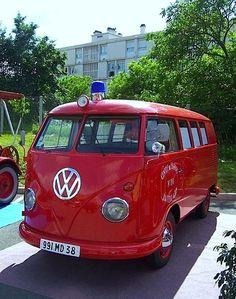 La Tour Du Pin Fire Brigade VW T1