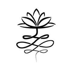 Simbolos Tattoo 35205 Dandy Tattoo - Semi-Permanent Tattoos by inkbox™ Unalome Tattoo, Simbolos Tattoo, Lotus Tattoo, Fake Tattoos, Flower Tattoos, Black Tattoos, Body Art Tattoos, Nature Tattoos, Small Tattoos