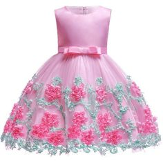 Baby Embroidered Formal Princess Dress For Girl Elegant Birthday Party Dress Girl Dress Baby Girl Christmas Clothes Years Baby Girl Christmas Dresses, Kids Summer Dresses, Baby Girl Party Dresses, Wedding Dresses For Girls, Toddler Girl Dresses, Birthday Dresses, Girls Dresses, Christmas Clothes, Dress Girl