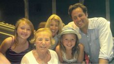 Rory Kennedy with her husband Mark Bailey and their daughters Georgia and Bridget and Rory's mom Ethel Kennedy.