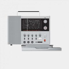 """Good design makes a product understandable""  It clarifies the product's structure. Better still, it can make the product talk. At best, it is self-explanatory.  T 1000 world receiver, 1963, by Dieter Rams for Braun"