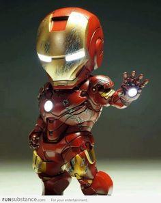 Mini Iron Man ~ I want this ! Marvel Dc, Mini Iron, Foto Art, Male Figure, Figure Model, Comic Character, Character Sketches, Marvel Characters, Manga