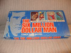 Six Million Dollar Man  Have this on the top of my bookcase.