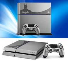 Sony's new limited edition PlayStation 4 emblazened with Batman to commemorate the release of Batman: Arkham Knight.