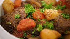 Recept ierse stoofpot met rundvlees en aardappelen