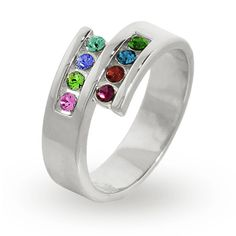 Contemporary Mother's Ring