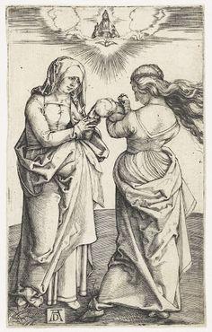 Anna te Drieën, Albrecht Dürer, 1498  #PublicDomain