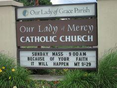 Our Lady, Catholic, Faith, Shit Happens, Loyalty, Believe, Religion, Roman Catholic