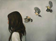 "Art Inspiration: Painting ""Chinese Whispers"" by Amy Judd. Chinese Whispers, Modern Art, Contemporary Art, Art Du Monde, Gossamer Wings, Belle Photo, Love Art, Art Drawings, Art Photography"