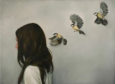 CHINESE WHISPERS by Amy Judd Art, via Flickr